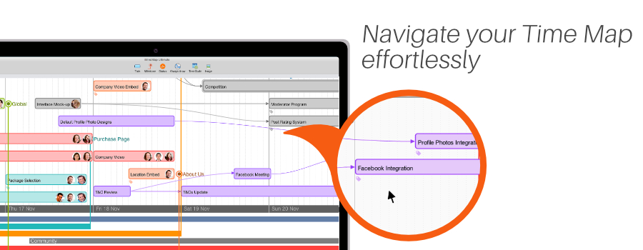 Navigate your Time Map effortlessly