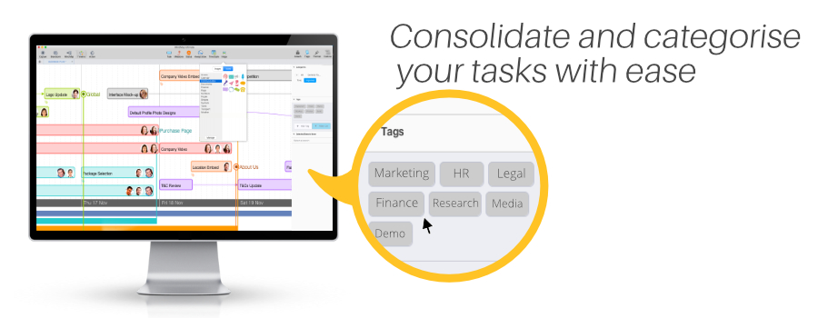 Consolidate your tasks with ease